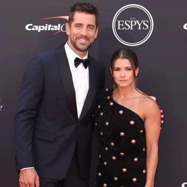 Aaron Rodgers is listed (or ranked) 1 on the list Danica Patrick Loves and Hookups