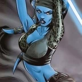 Aayla Secura is listed (or ranked) 21 on the list My Top 30 Star Wars Expanded Universe Characters