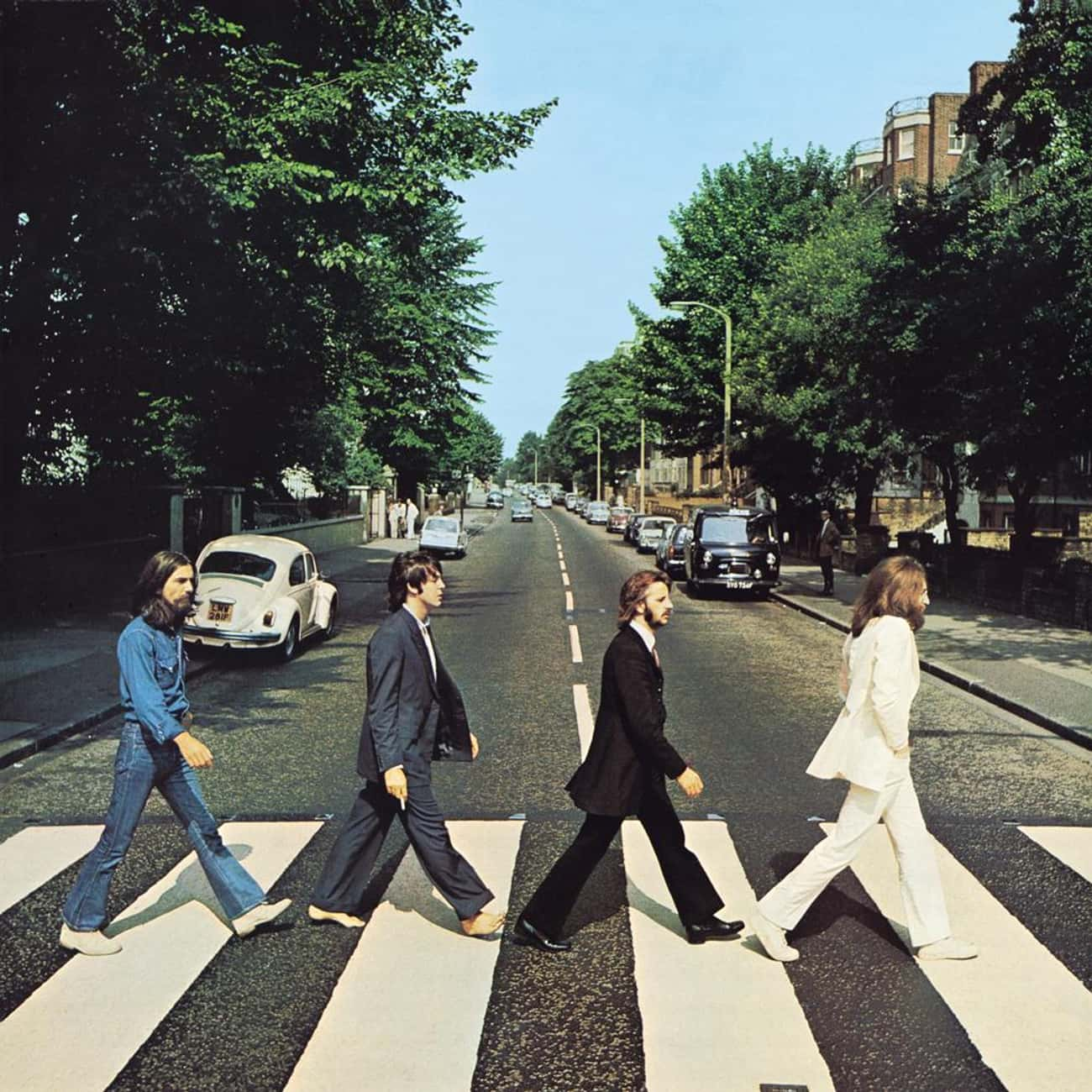 Abbey Road is listed (or ranked) 2 on the list The Greatest Album Covers of All Time