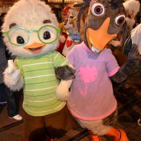 Abby Mallard is listed (or ranked) 1 on the list List of Chicken Little Characters