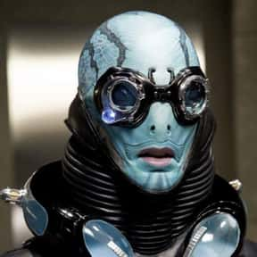 Abe Sapien is listed (or ranked) 4 on the list The Best Characters In Guillermo Del Toro Movies