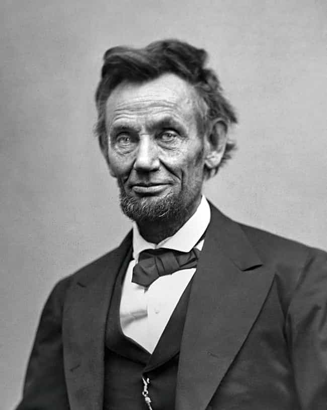 Abraham Lincoln is listed (or ranked) 1 on the list 7 Historical Figures Who Claimed to Have Been Visited by Ghosts... of Themselves