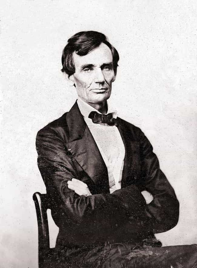 Abraham Lincoln is listed (or ranked) 1 on the list 13 Presidents Who Lived Wild Lives Before Becoming President