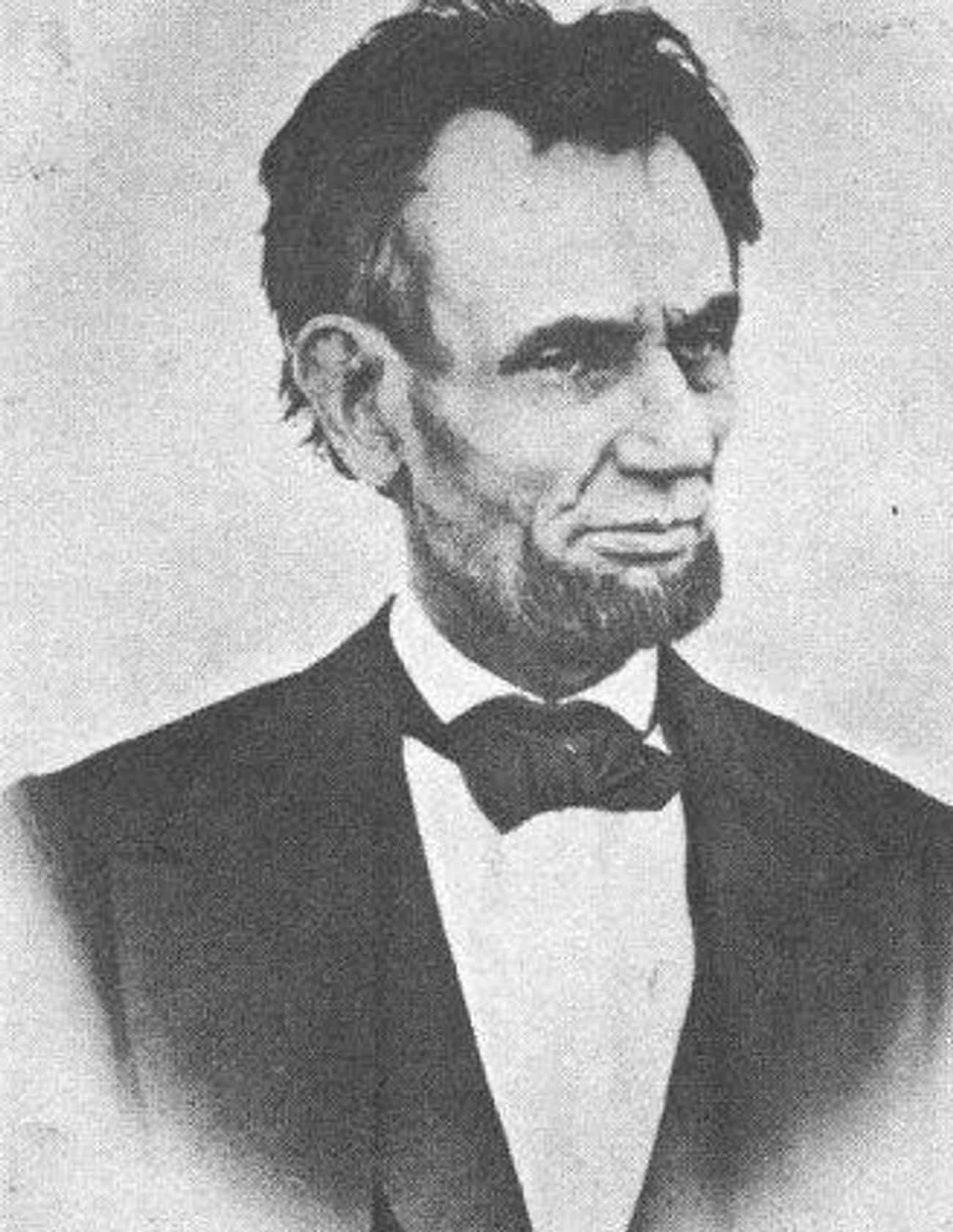 Abraham Lincoln, April 10, 186 is listed (or ranked) 3 on the list The Last Pictures Of US Presidents Before They Died