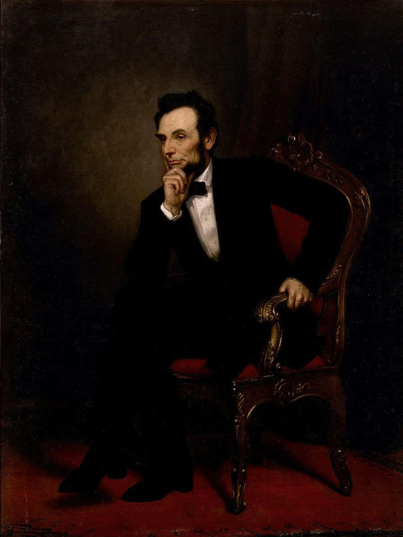 Abraham Lincoln is listed (or ranked) 1 on the list All the Presidential Portraits, Ranked