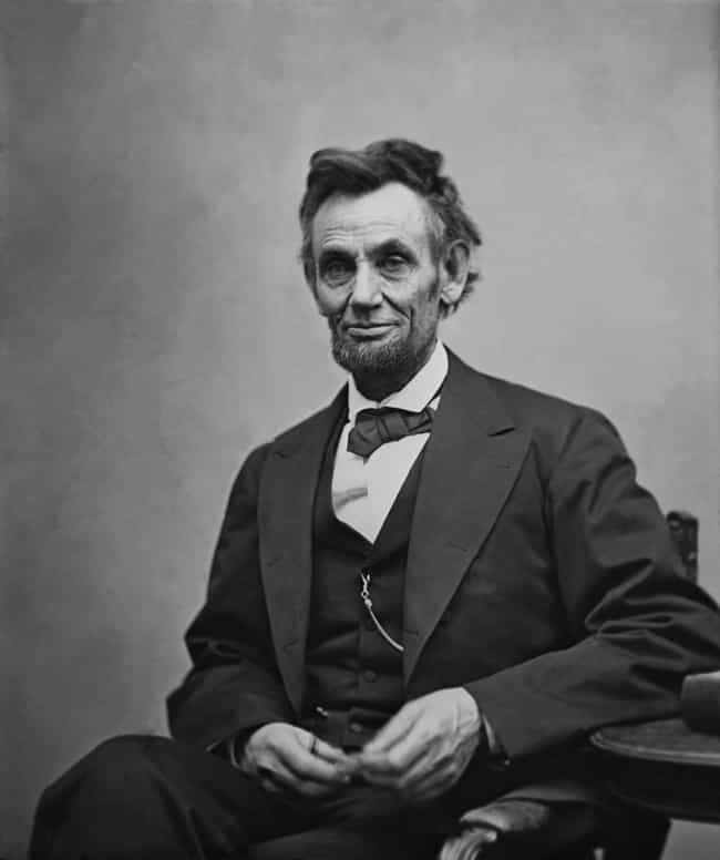 Abraham Lincoln is listed (or ranked) 4 on the list Famous INTPs