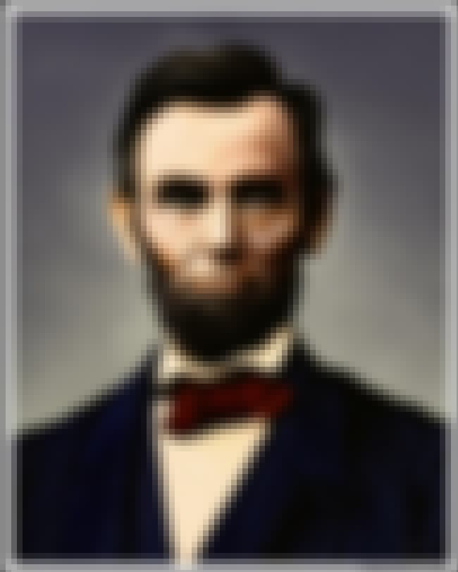 Abraham Lincoln is listed (or ranked) 4 on the list List of Famous Statesmen