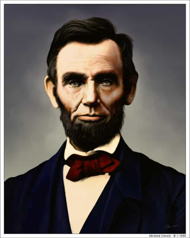 Abraham Lincoln is listed (or ranked) 3 on the list Famous Male Politicians