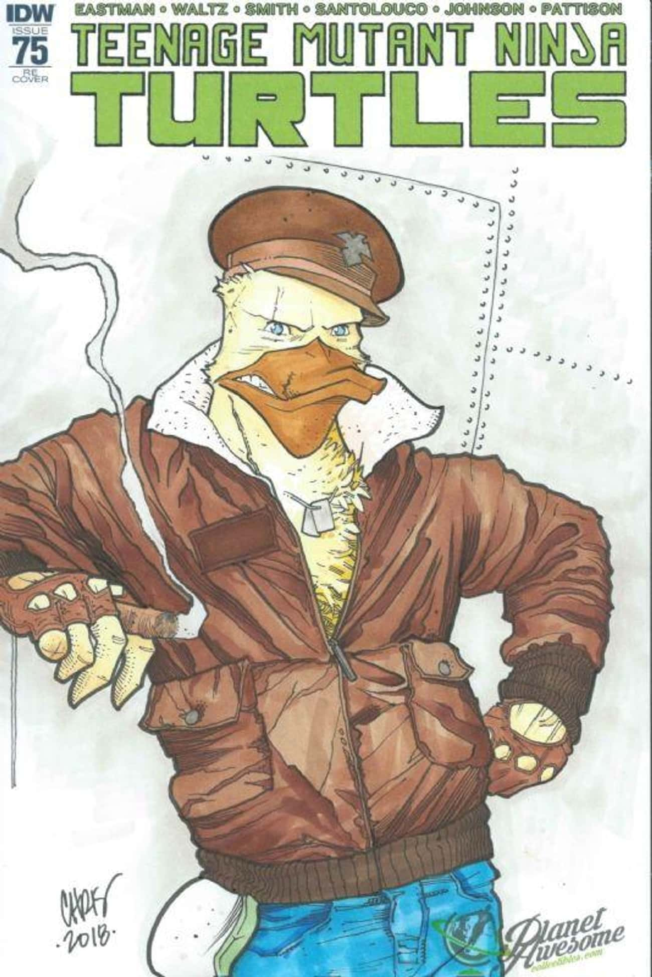 Ace Duck is listed (or ranked) 1 on the list The Best TMNT Mutants You Forgot About