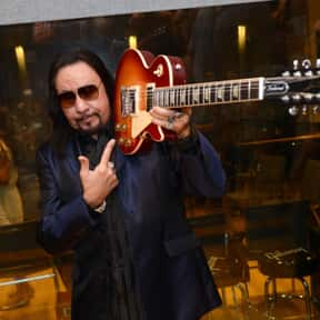 Ace Frehley is listed (or ranked) 13 on the list On the Cover of the Rolling Stone Magazine