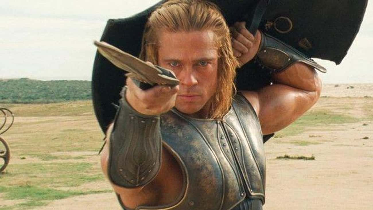 Achilles is listed (or ranked) 1 on the list Which Fictional Fighter Would Destroy All Others In A Sword Fight?
