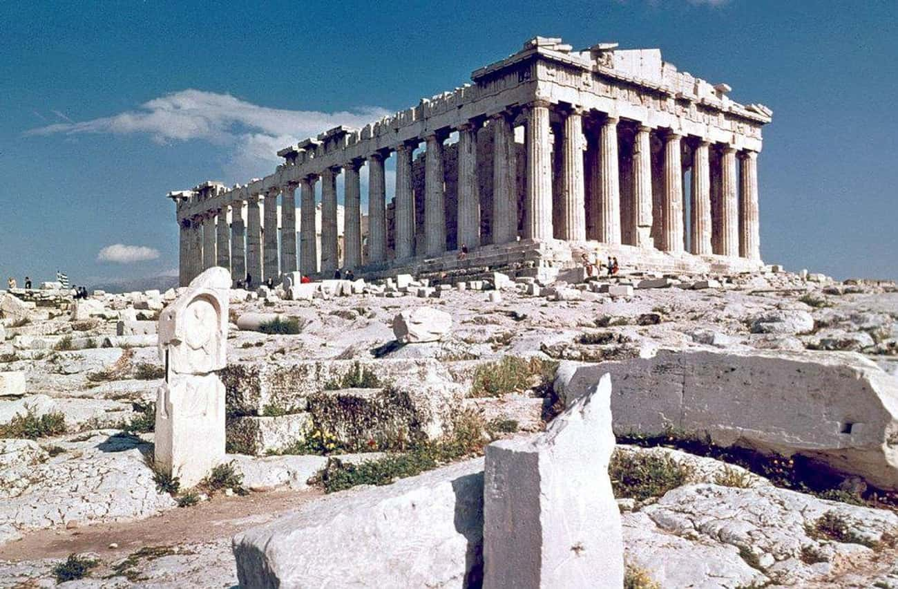 The Parthenon, Architectural W is listed (or ranked) 3 on the list Real Mythological Places You Can Visit