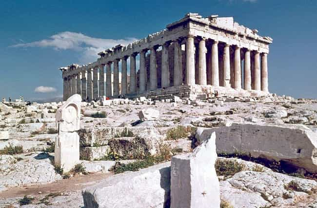 Acropolis of Athens is listed (or ranked) 4 on the list Real Mythological Places You Can Visit