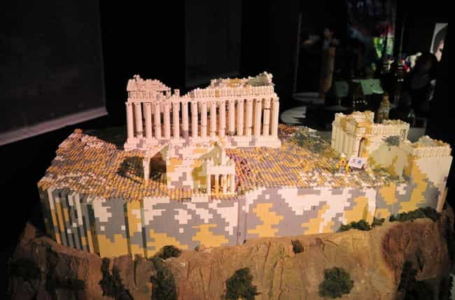 Acropolis of Athens is listed (or ranked) 4 on the list 31 Amazing LEGO Versions of Famous Monuments