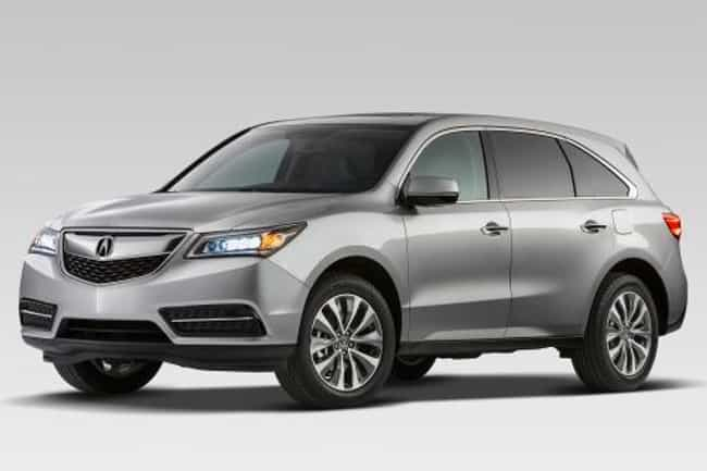Acura MDX is listed (or ranked) 2 on the list Full List of Acura Models