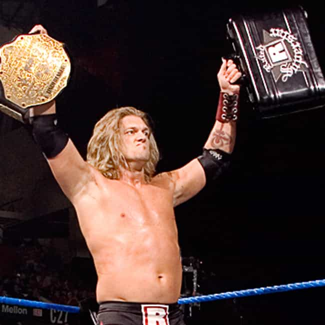 Edge is listed (or ranked) 3 on the list The Best WWE Money in the Bank Winners