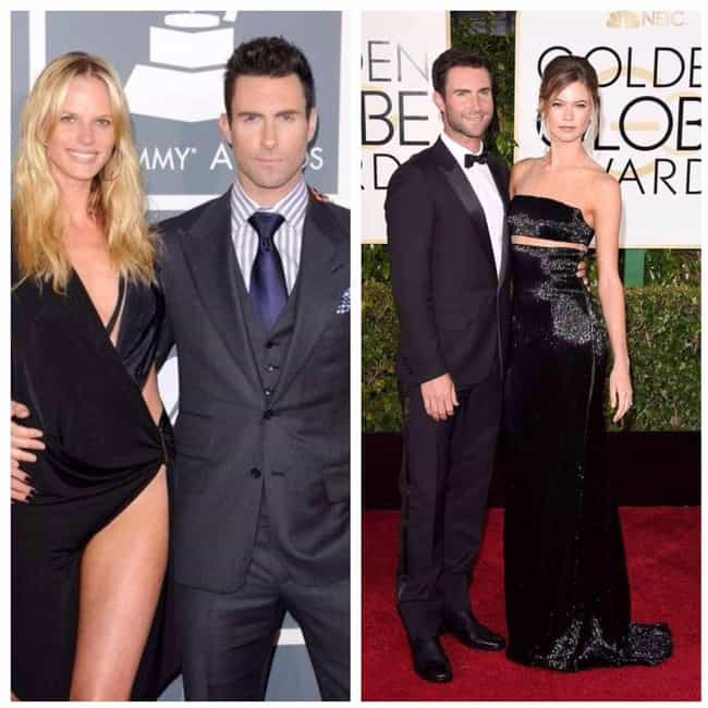 Adam Levine is listed (or ranked) 4 on the list 16 Celebrities Who Definitely Have a Type