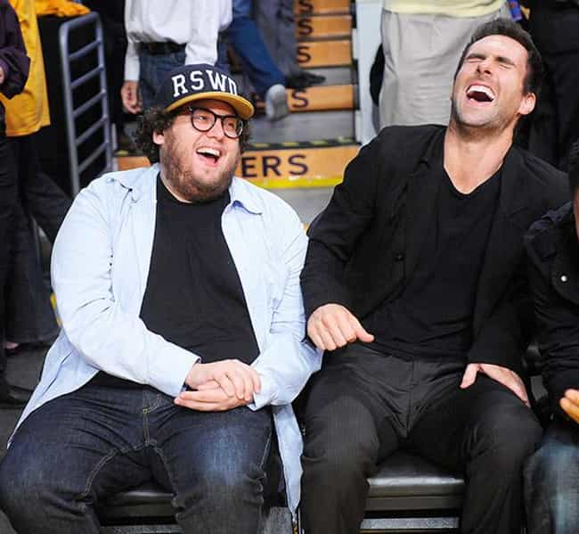 Adam Levine is listed (or ranked) 1 on the list Famous Friends of Jonah Hill
