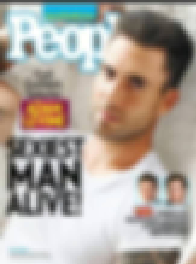 Adam Levine is listed (or ranked) 4 on the list Every Cover of People's Sexiest Man Alive Issue, Ever