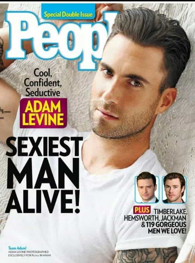 Adam Levine is listed (or ranked) 6 on the list Every Cover of People's Sexiest Man Alive Issue, Ever