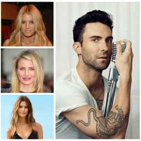 Adam Levine is listed (or ranked) 18 on the list The Biggest Manwhores in the Entertainment Industry