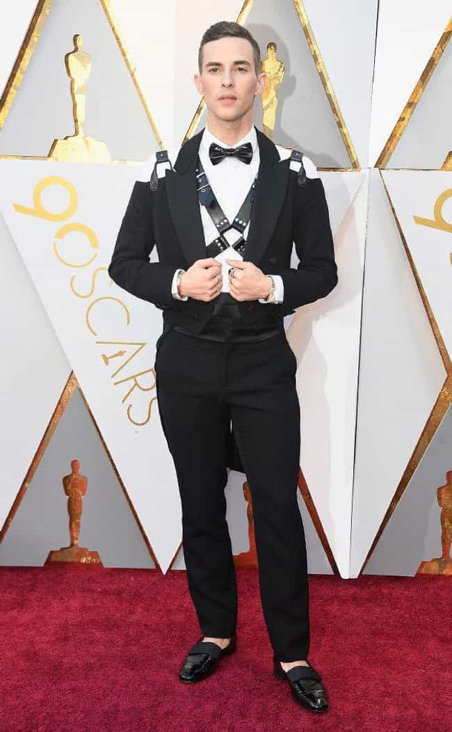 Adam Rippon is listed (or ranked) 4 on the list Worst Dressed At The 2018 Academy Awards