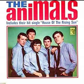 """The Animals - The Animals - 1 is listed (or ranked) 25 on the list The 50 Greatest Albums Released Between 1960 - 1969"