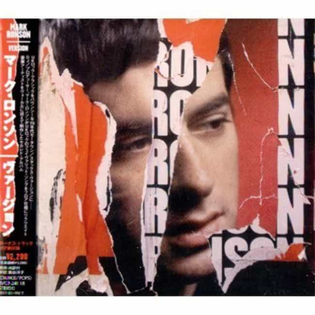 Version is listed (or ranked) 3 on the list The Best Mark Ronson Albums, Ranked