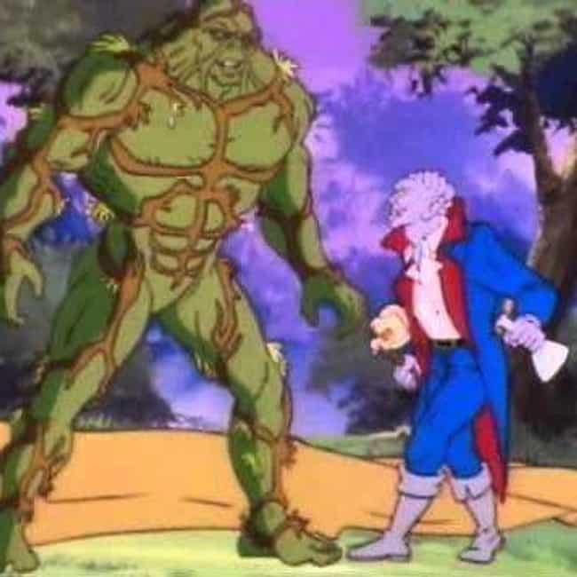 Swamp Thing is listed (or ranked) 3 on the list 13 Terrible Superhero Cartoons You Erased From Your Memory