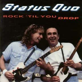 Rock 'til You Drop is listed (or ranked) 5 on the list The Best Status Quo Albums of All Time