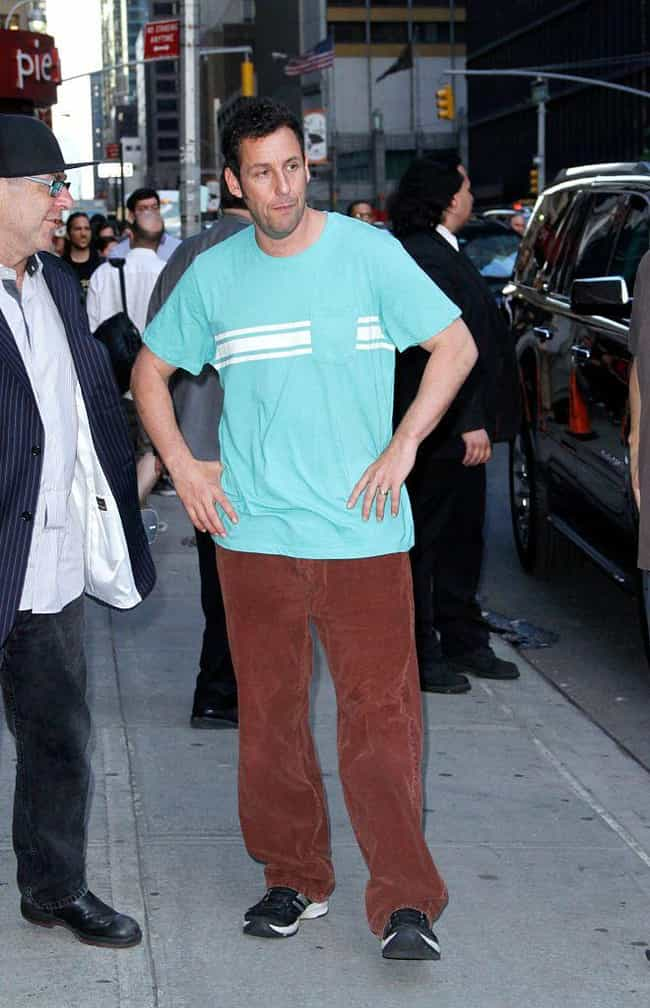 Adam Sandler is listed (or ranked) 6 on the list Celebrities Who Live In Brooklyn
