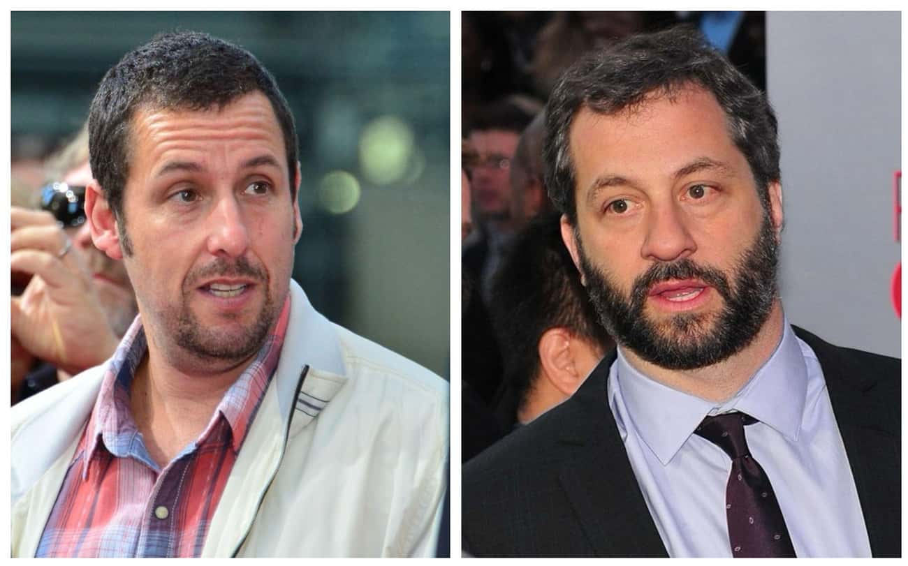 Adam Sandler & Judd Apatow is listed (or ranked) 4 on the list Celebrities Who Were Once Roommates