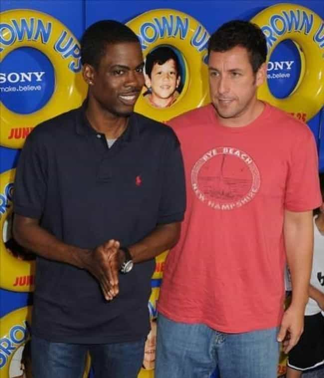 Adam Sandler is listed (or ranked) 4 on the list Famous Friends of Chris Rock