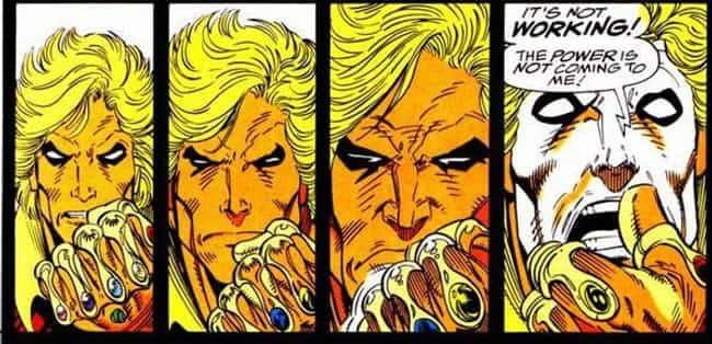 Adam Warlock is listed (or ranked) 4 on the list All The Characters Who Wore The Infinity Gauntlet Besides Thanos