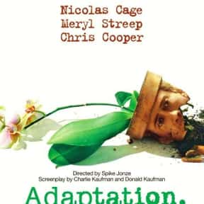 Adaptation is listed (or ranked) 16 on the list The Best Nicolas Cage Movies