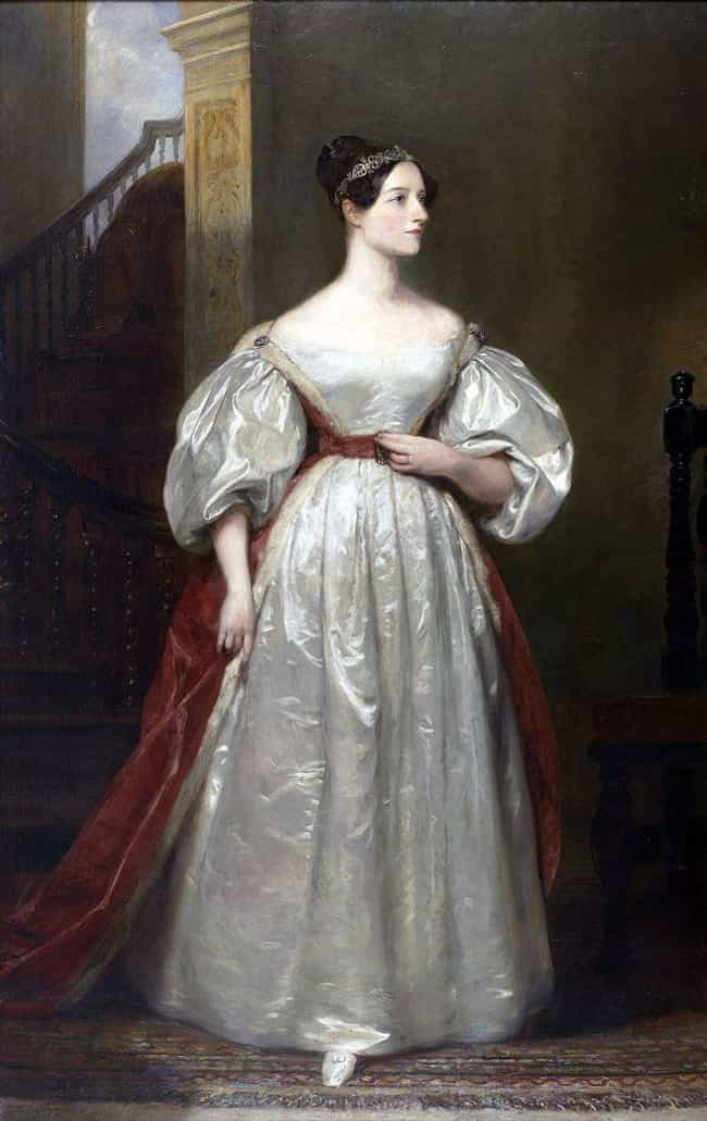 Ada Lovelace is listed (or ranked) 1 on the list 20 Amazing Women in STEM Fields