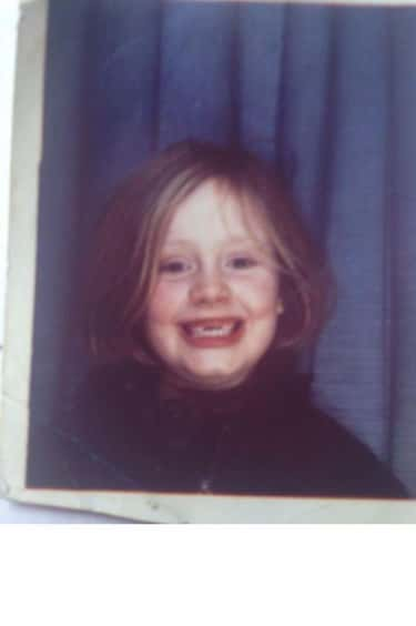 This Adorable Photo of Adele T is listed (or ranked) 2 on the list 24 Adorable Old Photos of Celebrities Their Moms Would Probably Love to Show You