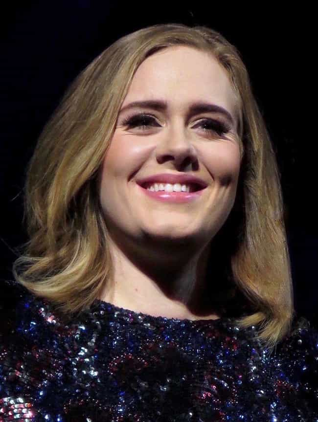 Adele is listed (or ranked) 1 on the list Fun Facts You Didn't Know About Adele