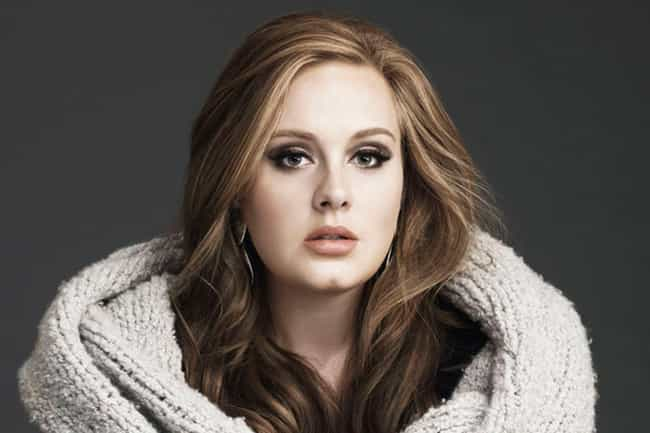 Adele is listed (or ranked) 4 on the list The Best Female Vocalists Ever