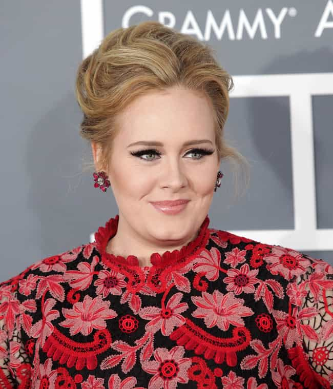 Adele is listed (or ranked) 4 on the list The Full Names of 51 Mononymous People