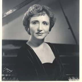 Adele Marcus is listed (or ranked) 8 on the list Famous Classical Pianists