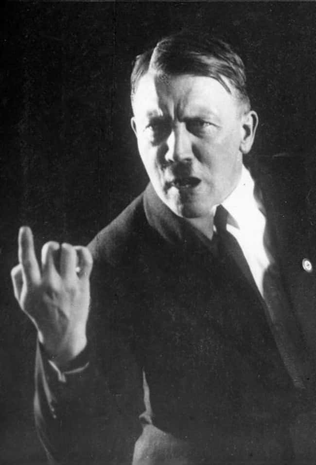 Adolf Hitler is listed (or ranked) 8 on the list Famous Penises That Went Down in History