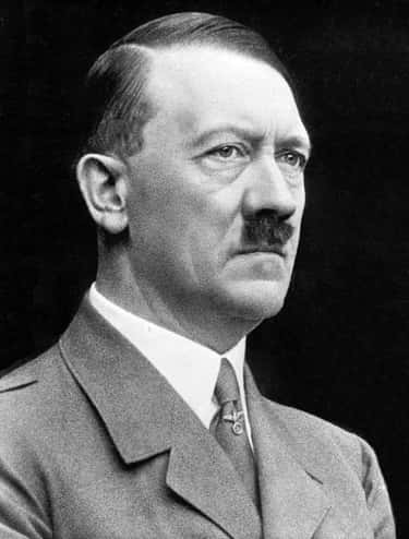 Adolf Hitler is listed (or ranked) 1 on the list Famous Male Dictators
