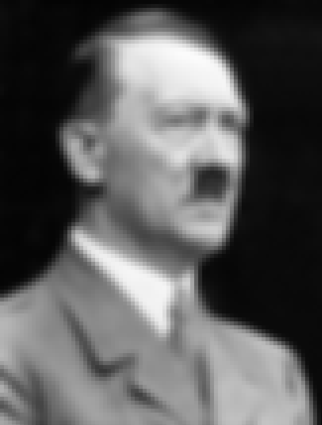 Adolf Hitler is listed (or ranked) 1 on the list List of Famous Dictators