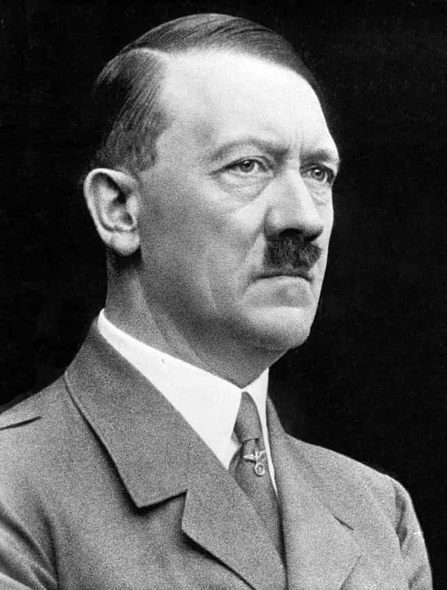 Adolf Hitler is listed (or ranked) 1 on the list Famous Male Politicians