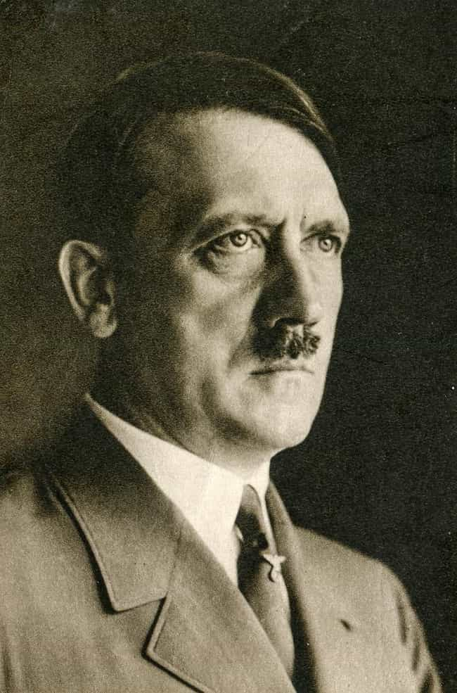 Adolf Hitler is listed (or ranked) 5 on the list 22 Celebrities with One or Fewer Testes