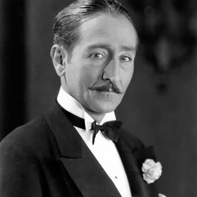 Adolphe Menjou is listed (or ranked) 3 on the list Famous People Who Died of Hepatitis
