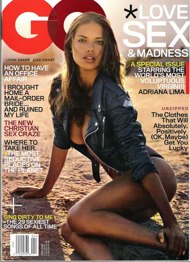 Adriana Lima is listed (or ranked) 2 on the list The Best GQ Covers