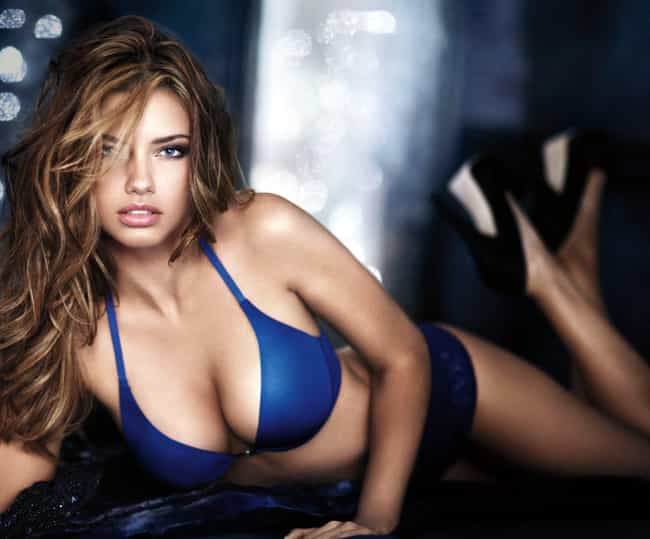 Adriana Lima is listed (or ranked) 3 on the list Lovely Celebrity Women Who Are Very, Very Tall