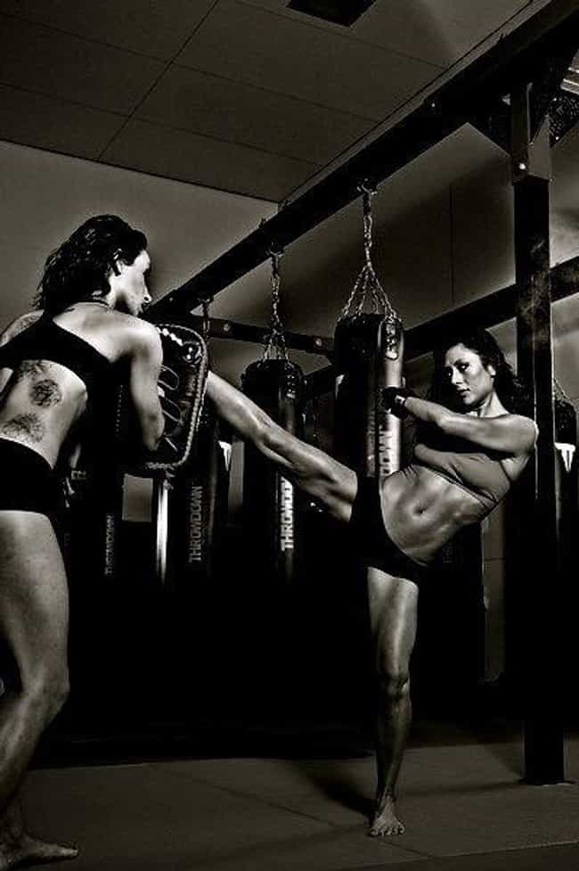 Adriana Lima is listed (or ranked) 3 on the list Celebrities Who Study Martial Arts